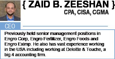 Zaid B. Zeeshan, CEO